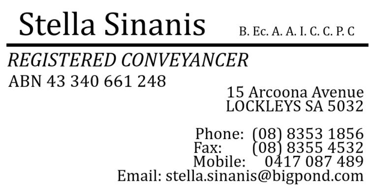 Stella Sinanis